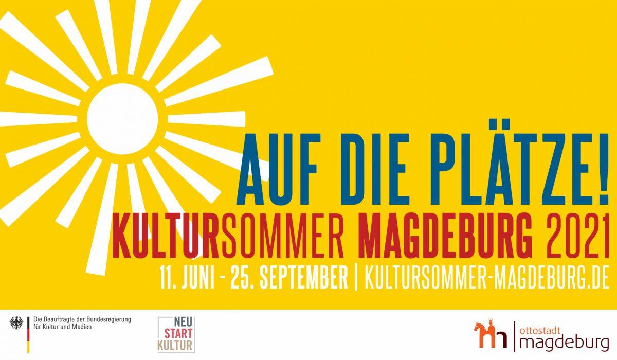 Plakat Kultursommer Magdeburg